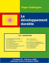 1. le développement durable
