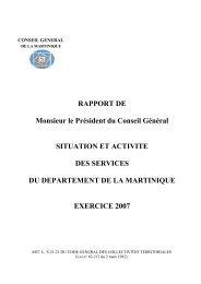 2 M - Le Conseil Général de la Martinique
