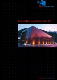 Faszination swissfiber skin 01f - Gasser Fassadentechnik
