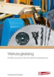 Werkzeugkatalog - Hundegger Maschinenbau Gmbh