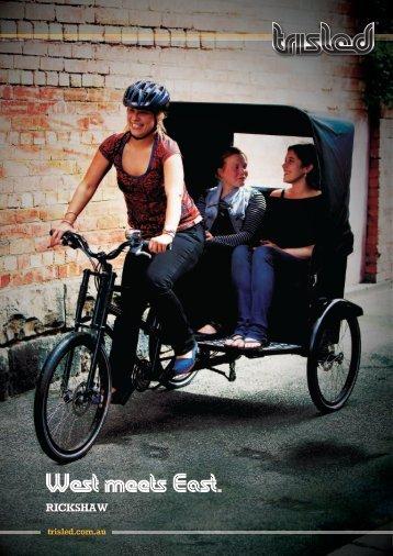rickshaw - Trisled