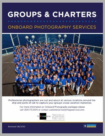 Photography Services - Royal Caribbean