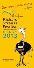 Festspiele eV - Richard-Strauss-Festival