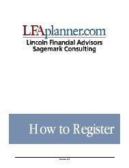 Version 2.0 - Lincoln Financial Group