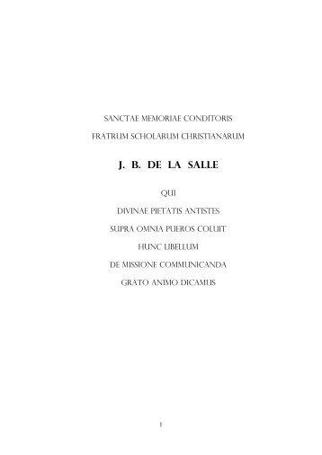 lettera 2009.pdf - Collegio San Giuseppe - Istituto De Merode
