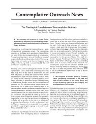 Download pdf file in a new window - Contemplative Outreach