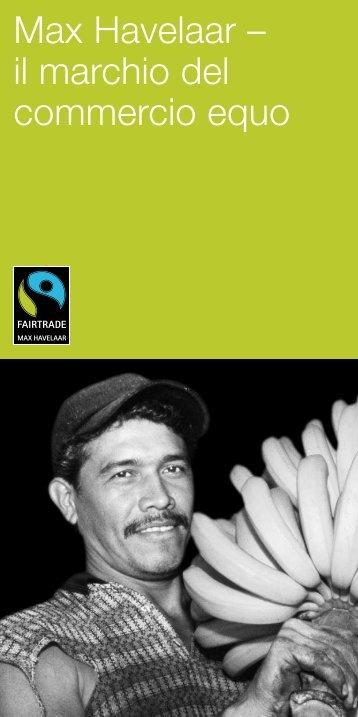 Max Havelaar – il marchio del commercio equo