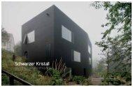Schwarzer Kristall - Vuagniaux Architekt Logo
