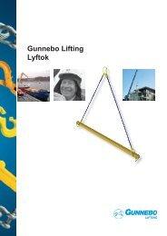 Gunnebo Lifting Lyftok - Gunnebo Industries