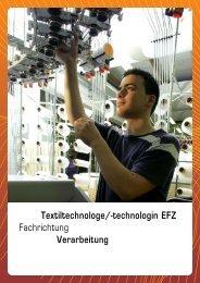 Fachrichtung Verarbeitung - Textilverband Schweiz