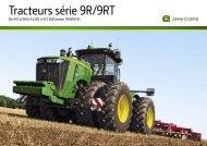 Tracteurs série 9R/9RT - Lectura SPECS