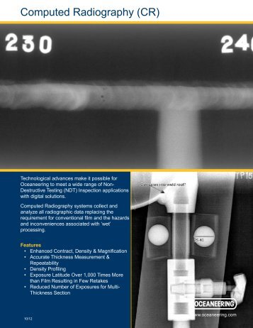 computed radiography (cr) - Oceaneering