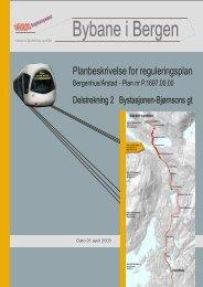Les planbekrivelse - Bergen kommune