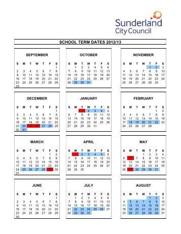 SCHOOL TERM DATES 2012/13 - North View School
