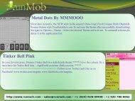 Metal Dots By MMMOOO Tinker Bell Pink - RunMob