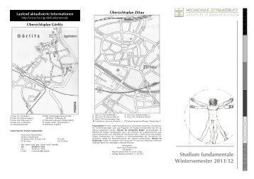 Studium fundamentale Wintersemester 2011/12