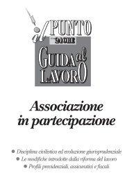 Associazione in partecipazione - UIL Basilicata