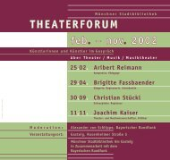 Alexander von Schlippe, Bayerischer Rundfunk Veranstaltungsort