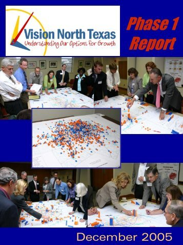 Phase One Full Report - Vision North Texas