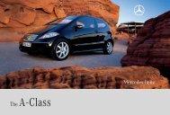 Download A-Class catalogue (PDF) - Mercedes-Benz Brunei
