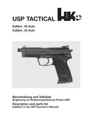 USP TACTICAL - Waffen Braun
