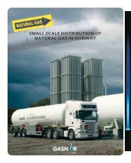 SMALL SCALE DISTRIBUTION OF NATURAL GAS IN NORWAY