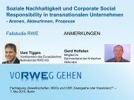 Vortrag Gerd Hofielen