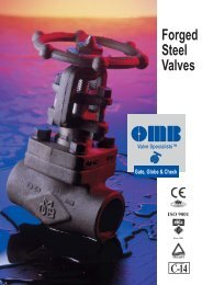 OMB - Forged Steel