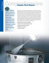 Engine Part Repair - Pratt & Whitney - United Technologies