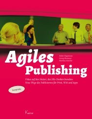Agiles Publishing - Leseprobe - VSD