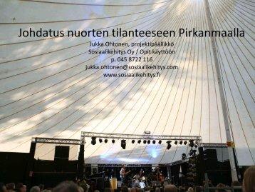 Johdatus nuorten tilanteeseen Pirkanmaalla - Varustamo – Nuorelta ...