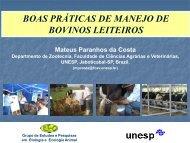 BOAS PRÁTICAS DE MANEJO DE BOVINOS LEITEIROS - ETCO