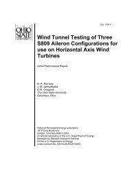 S809 Airfoil (3 Ailerons) - NREL