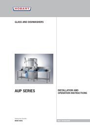 PREMAX AUP Install & Operations Manual.pdf - Hobart Food ...