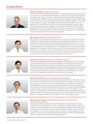 Principal Officers - OCBC Bank