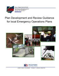Plan Development and Review Guidance for local Emergency ...
