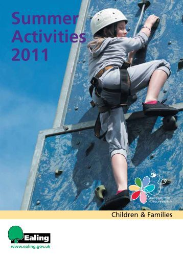 Summer Activities 2011 - Children's Centres