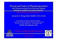 Present and Future of Pharmacogenomics (slideshow) - Thblack.com