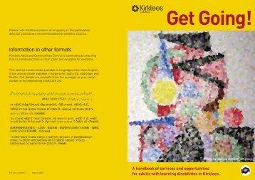 Page number - Calderdale and Kirklees Careers Service Partnership