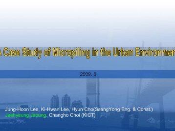 Jaehyeung Jeoung, Changho Choi (KICT)