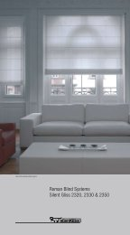 Roman Blind Systems Silent Gliss 2320, 2330 & 2350 - Audio Images