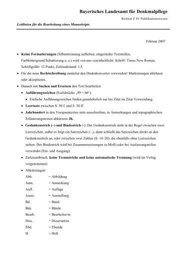 Bayerisches Landesamt für Denkmalpflege