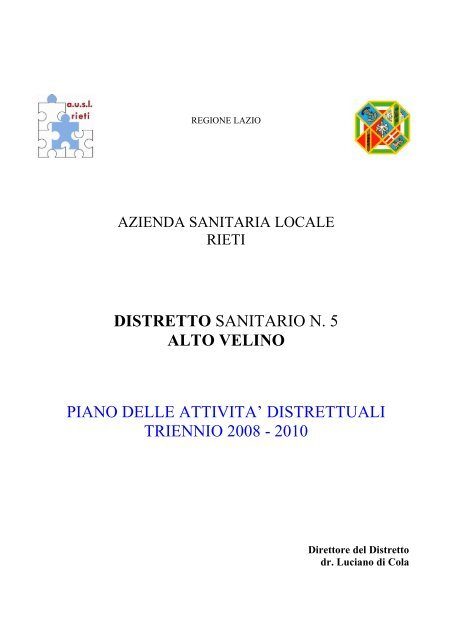 PAD Distretto n. 5 - Azienda USL Rieti