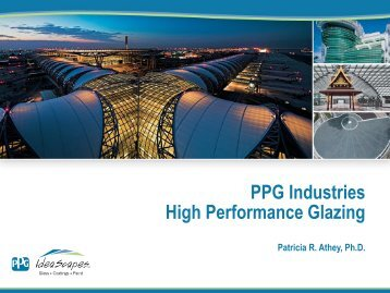PPG Industries High Performance Glazing - EEB Hub