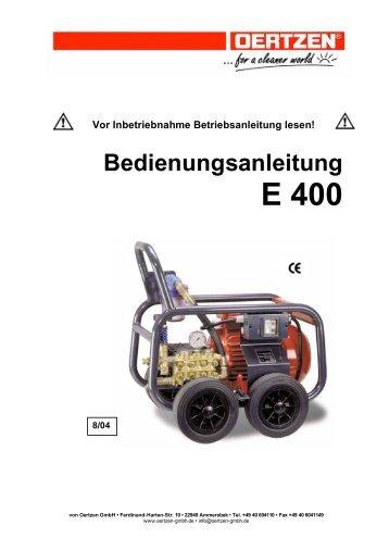 E 400 - von Oertzen GmbH