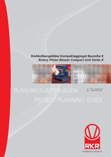PLANUNGSUNTERLAGEN PROJECT PLANNING GUIDE