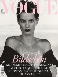 Vogue Germany - Wellicious
