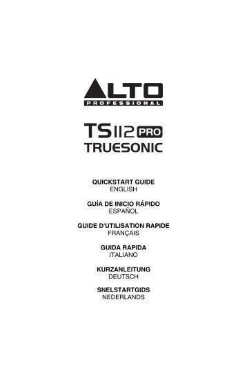 TS112PRO - Quickstart Guide - v1.0