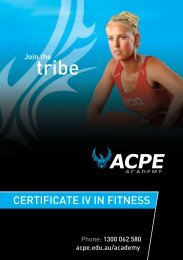 CertifiCate iV iN fitNess - AIAS