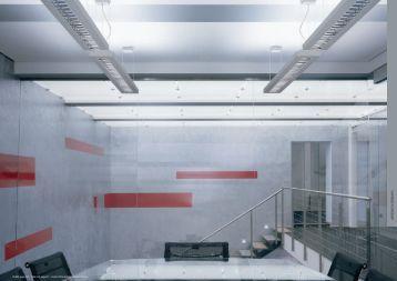 suspended fluorescent - Architectural Lighting Associates (ALA, Inc.)